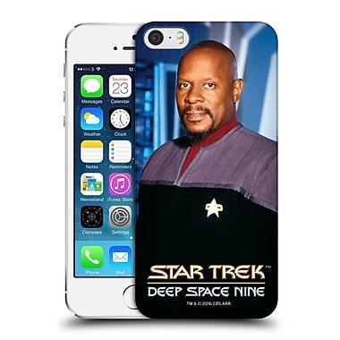 Official Star Trek Iconic Characters Ds9 Benjamin Sisko Hard Back Case For Apple Iphone 5 / 5S / Se