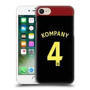 Official Manchester City Man City Fc Away Kit 2016/17 1 Kompany Hard Back Case For Apple Iphone 7
