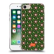 Official Emoji Floral Patterns Tropical Soft Gel Case For Apple Iphone 7