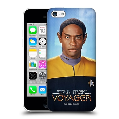 Official Star Trek Iconic Characters Voy Tuvok Hard Back Case For Apple Iphone 5C