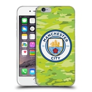 Official Manchester City Man City Fc Badge Camou Goalee Soft Gel Case For Apple Iphone 6 / 6S