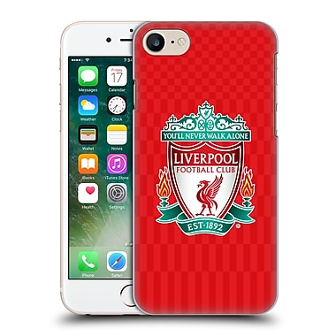Official Liverpool Football Club Crest Designs Full Colour Home Hard Back Case For Apple Iphone 7