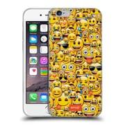 Official Emoji Full Patterns Smileys Soft Gel Case For Apple Iphone 6 / 6S