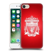 Official Liverpool Football Club Crest 2 Red Pixel 2 Hard Back Case For Apple Iphone 7