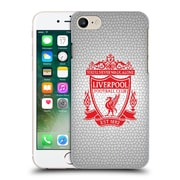 Official Liverpool Football Club Crest 2 White Pixel 2 Hard Back Case For Apple Iphone 7