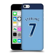 Official Manchester City Man City Fc Player Home Kit 2016/17 Group 2 Sterling Hard Back Case For Apple Iphone 5C