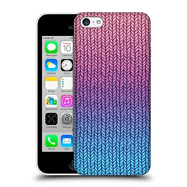 Official Micklyn Le Feuvre Patterns Chunky Knit Hard Back Case For Apple Iphone 5C