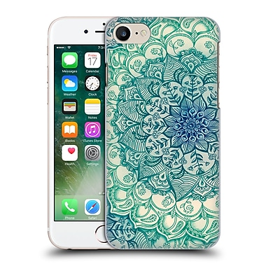 Official Micklyn Le Feuvre Mandala 3 Emerald Doodle Hard Back Case For Apple Iphone 7