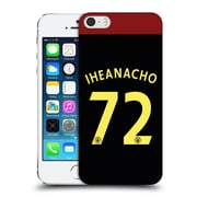 Official Manchester City Man City Fc Away Kit 2016/17 2 Iheanacho Hard Back Case For Apple Iphone 5 / 5S / Se