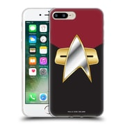 Official Star Trek Uniforms And Badges Ds9 Command Soft Gel Case For Apple Iphone 7 Plus