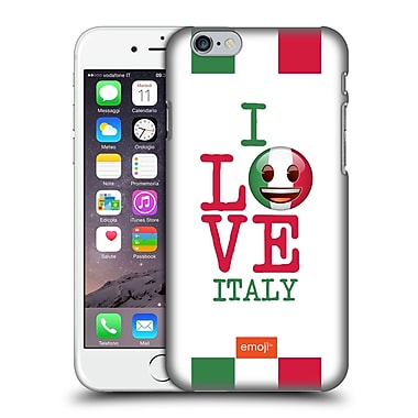 Official Emoji I Love My Country Italy Hard Back Case For Apple Iphone 6 / 6S