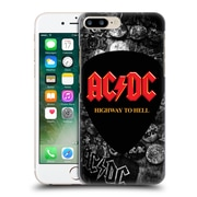 Official Ac/Dc Acdc Logo Button Pins Hard Back Case For Apple Iphone 7 Plus