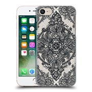 Official Micklyn Le Feuvre Mandala 3 Charcoal Lace Pencil Doodle Hard Back Case For Apple Iphone 7