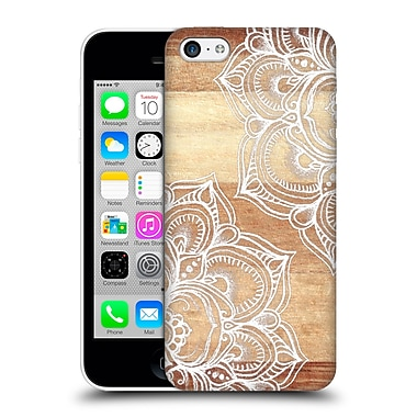 Official Micklyn Le Feuvre On Wood Mandala Hard Back Case For Apple Iphone 5C