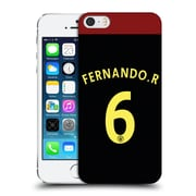 Official Manchester City Man City Fc Away Kit 2016/17 2 Fernando Hard Back Case For Apple Iphone 5 / 5S / Se