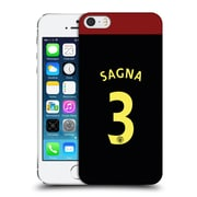 Official Manchester City Man City Fc Away Kit 2016/17 1 Sagna Hard Back Case For Apple Iphone 5 / 5S / Se