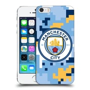 Official Manchester City Man City Fc Digital Camouflage Club Hard Back Case For Apple Iphone 5 / 5S / Se