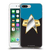 Official Star Trek Uniforms And Badges Ds9 Sciences Soft Gel Case For Apple Iphone 7 Plus