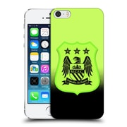 Official Manchester City Man City Fc Crest Kit Third Kit Mono Hard Back Case For Apple Iphone 5 / 5S / Se