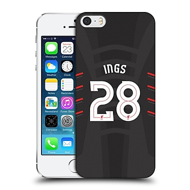 Official Liverpool Football Club Players Away Kit 16/17 Group 1 Ings Hard Back Case For Apple Iphone 5 / 5S / Se