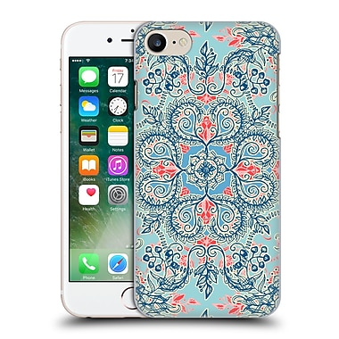 Official Micklyn Le Feuvre Floral Patterns Red And Blue Hard Back Case For Apple Iphone 7