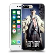 Official Star Trek Zefram Cochrane First Contact Tng Full Costume Soft Gel Case For Apple Iphone 7 Plus