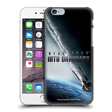 Official Star Trek Posters Into Darkness Xii Uss Enterprise Ncc-1701 Falling Hard Back Case For Apple Iphone 6 / 6S