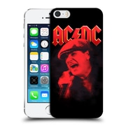 Official Ac/Dc Acdc Solo Brian Johnson Red Hard Back Case For Apple Iphone 5 / 5S / Se
