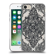 Official Micklyn Le Feuvre Mandala 3 Charcoal Lace Pencil Doodle Soft Gel Case For Apple Iphone 7