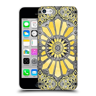 Official Micklyn Le Feuvre Patterns 3 Sunny Yellow Radiant Watercolour Hard Back Case For Apple Iphone 5C