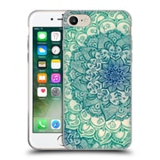 Official Micklyn Le Feuvre Mandala 3 Emerald Doodle Soft Gel Case For Apple Iphone 7