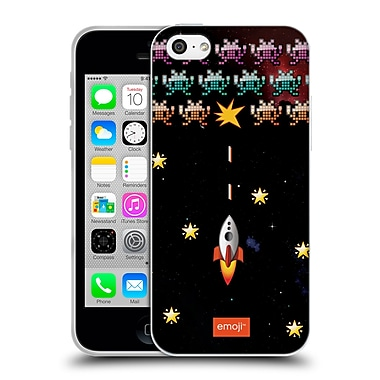 Official Emoji Space Invaders Soft Gel Case For Apple Iphone 5C