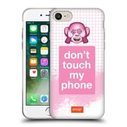 Official Emoji Pastel Sass Do Not Touch Soft Gel Case For Apple Iphone 7