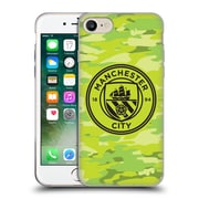 Official Manchester City Man City Fc Badge Camou Goalee Mono Soft Gel Case For Apple Iphone 7