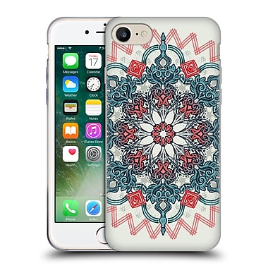 Official Micklyn Le Feuvre Mandala 3 Coral And Teal Tangle Medallion Soft Gel Case For Apple Iphone 7