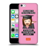 Official Emoji Graduation Real World Hard Back Case For Apple Iphone 5C