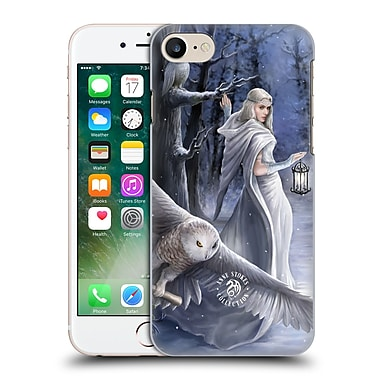 Official Anne Stokes Owls Midnight Messenger Hard Back Case For Apple Iphone 7