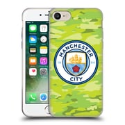Official Manchester City Man City Fc Badge Camou Goalee Soft Gel Case For Apple Iphone 7