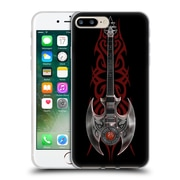 Official Anne Stokes Tribal Rock God Guitar Soft Gel Case For Apple Iphone 7 Plus