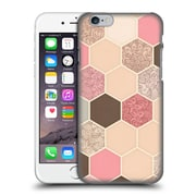Official Micklyn Le Feuvre Hexagon Patterns Caramel Cocoa Strawberry Cream Hard Back Case For Apple Iphone 6 / 6S