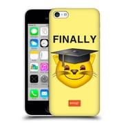 Official Emoji Graduation Finally Hard Back Case For Apple Iphone 5C