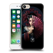 Official Anne Stokes Oriental Skull Geisha Hard Back Case For Apple Iphone 7