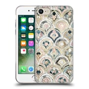 Official Micklyn Le Feuvre Marble Patterns Art Deco Tiles In Soft Pastels Soft Gel Case For Apple Iphone 7