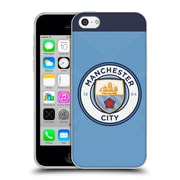 Official Manchester City Man City Fc Badge Kit 2016/17 Home Soft Gel Case For Apple Iphone 5C