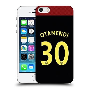 Official Manchester City Man City Fc Away Kit 2016/17 1 Otamendi Hard Back Case For Apple Iphone 5 / 5S / Se