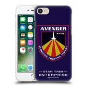 Official Star Trek Mirror Universe Badges Ent Avenger Hard Back Case For Apple Iphone 7