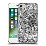 Official Micklyn Le Feuvre Mandala 3 Shades Of Grey Soft Gel Case For Apple Iphone 7