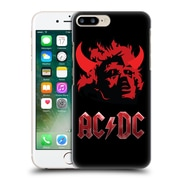Official Ac/Dc Acdc Iconic Devil'S Head Hard Back Case For Apple Iphone 7 Plus