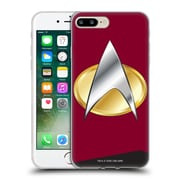 Official Star Trek Uniforms And Badges Tng Command Soft Gel Case For Apple Iphone 7 Plus
