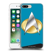 Official Star Trek Uniforms And Badges Tng Sciences Soft Gel Case For Apple Iphone 7 Plus